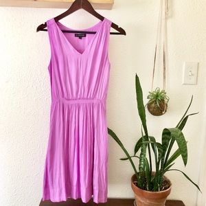 Banana Republic bright orchid colored dress